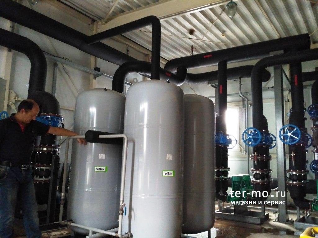 Обслуживание системы водоподготовки в котельной