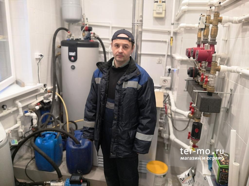 Промывка газового котла