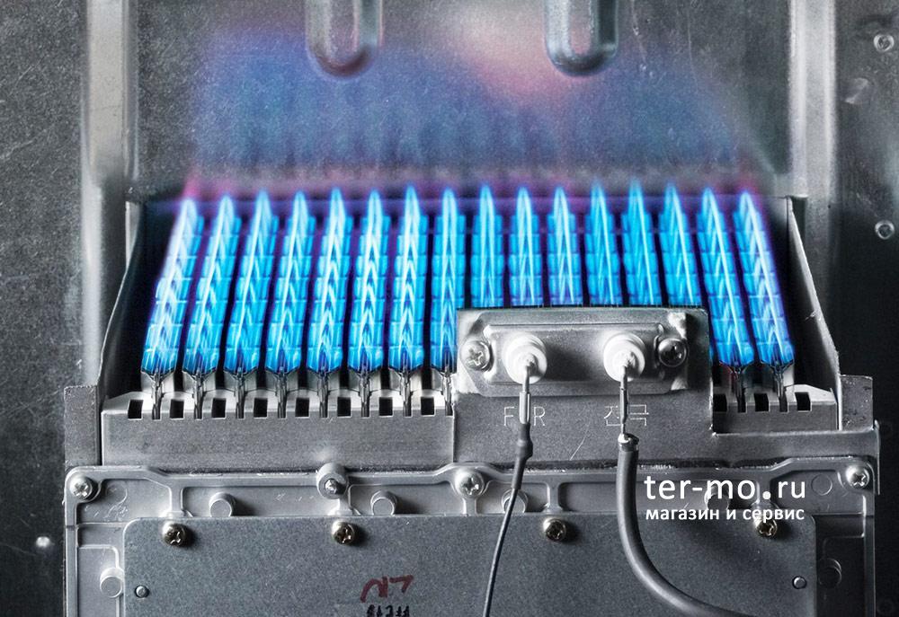 Настройка горелки газового котла