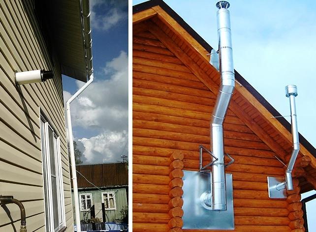 коаксиальных дымоходов для газовых котлов