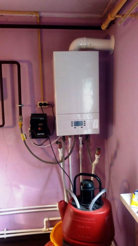 Промывка теплообменника настенного котла и системы отопления в частном доме
